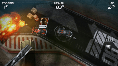 Imagination's best mobile games of 2012: Death Rally
