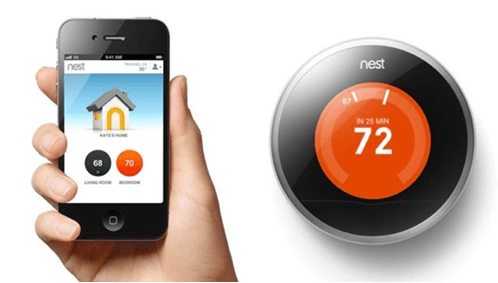Imagination's list-o-mania: connected home Internet of things smart TV nest learning thermostat
