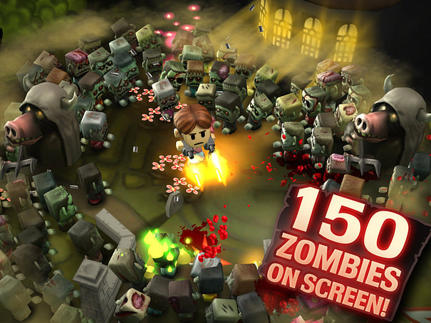 Minigore 2: Zombies designed with the PowerVR POD format