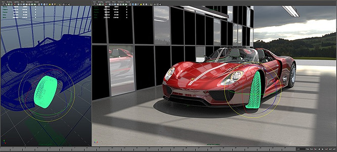 GDC 2012 Caustic Visualizer ray tracing